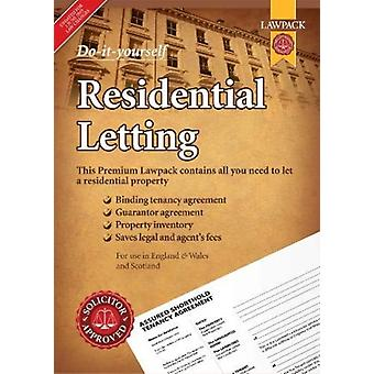 Premium DoitYourself Residential Letting  Contains all you need to let a residential property by Revised by Anthony Gold Solicitors