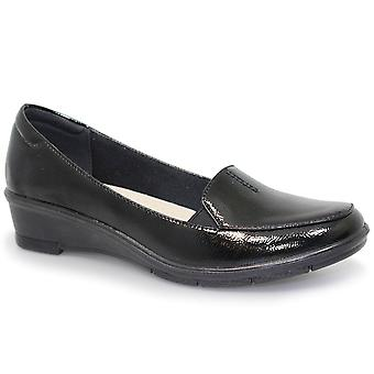 Lunar (GRS) Elsbeth Low Wedge Womens Shoes