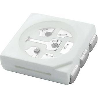 TRU-KOMPONENTER SMD LED 5050 Vit 120 ° 20 mA 3,4 V