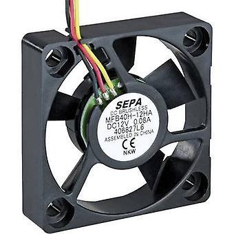 SEPA MFB40H05 Axial fan 5 V DC 11.0 m³/h (L x W x H) 40 x 40 x 10 mm