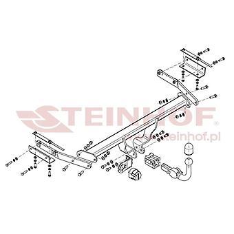 Steinhof Automatik abnehmbare Abschleppstange (Horizontal) für Nissan JUKE 2010-2015