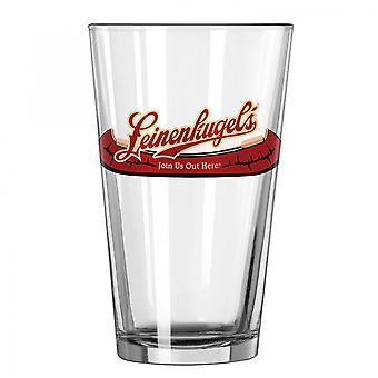 Leinenkugel's Unisciti a noi qui Logo Pint Glass