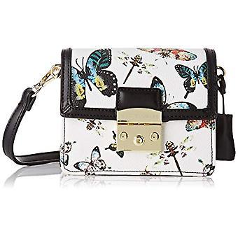 Mac Douglas Jazzy Paloma Xs - White Women's Shoulder Bags (Butterfly Blanc) 8.9x15.5x17.5 cm (W x H L)