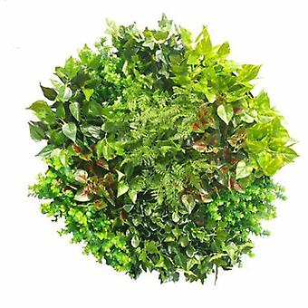 Artificial Green Wall Disk Art 80cm