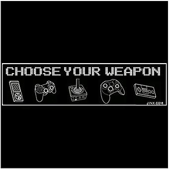 J!nx Controller Weapons Sticker