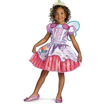 Candy Girl småbarn dräkt