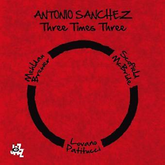 Antonio Sanchez - Three Times Three [CD] USA import