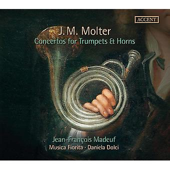 Molter / Dolci - Concertos for Trumpets & Horns [CD] USA import