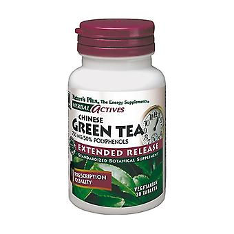 Chinese Green Tea (Chinesse Green Tea) 30 tablets