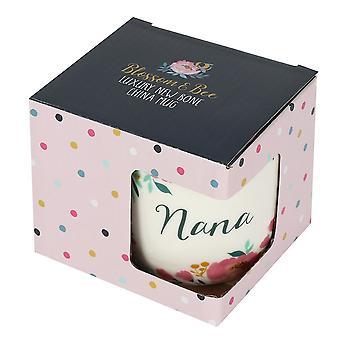 Something Different Blossom and Bee Collection Nana China Mug