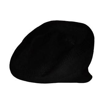 Stacy Adams Brei klimop Polyester Newsboy / Cabbie Hat Zwart