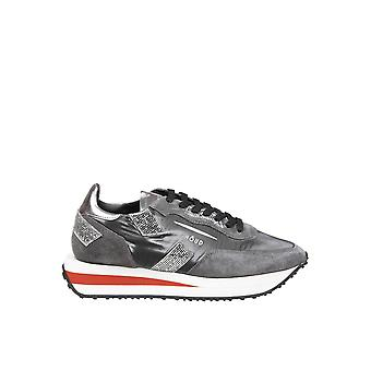 Ghoud Rxlwnm03 Women's Grey Leather Sneakers
