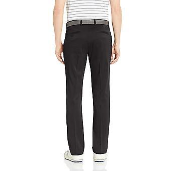 Essentials Men's Slim-Fit Stretch Golf Pant, Sort, 40W x 30L