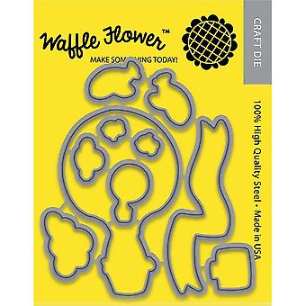 Waffle Flower Die-Across the Miles