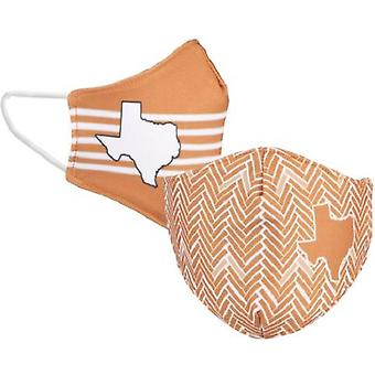 Texas Longhorns NCAA Desden Masque facial réversible
