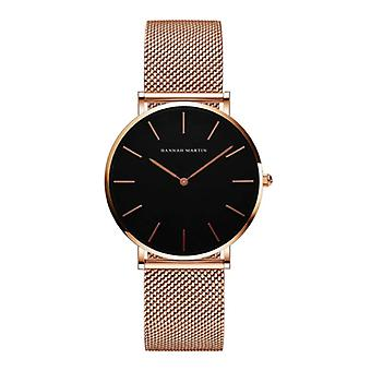 Hannah Martin Ladies Watch - Anologue Movement Mesh Strap for Women - CH36-WFF