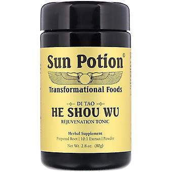 Sun Potion, He Shou Wu Powder, 2.8 oz (80 g)
