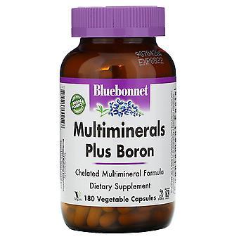 Bluebonnet Nutrition, Multiminerals, Plus Bore, 180 Vcaps