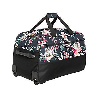 Roxy Feel It All Wheeled Luggage in Anthracite Wonder Garden S