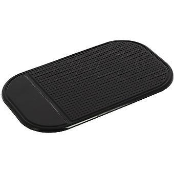 non-slip dashboard mat 14.5 x 8.5 cm synthetic black