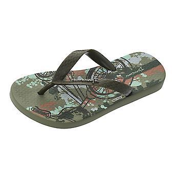 Ipanema Classic 21 Kids Beach Flip Flops / Sandals - Khaki