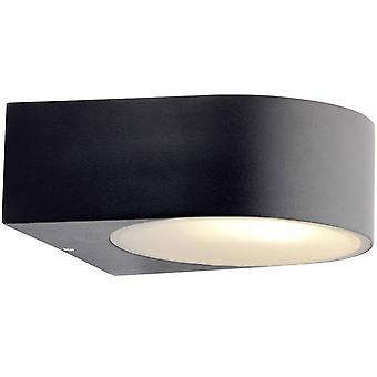 Lámpara BRILLANTE Tyler Lámpara de Pared al Aire Libre Negro 1x A60, E27, 60W, adecuado para lámparas normales (no incluidas) Escala A++