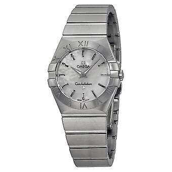 Omega Constellation Silver-tone Ladies Watch 123.10.27.60.05.001