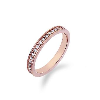 Emozioni Infinito Rose Gold Plated Ring ER008