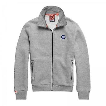Superdry Collective Track Top Dark Grey Grit 9SS