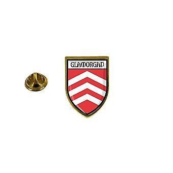 pine pine pine badge pine pin-apos;s souvenir city flag country coat of arms glamorgan