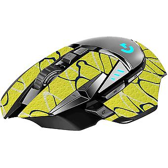REYTID Durasoft Polymer Gaming Mouse Skin Grip Sticker Tape - PRE-CUT - Compatible avec Logitech G502 - Slip-Resistant, WaterProof et Ultra-Comfortable Grips