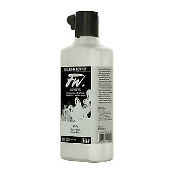 Daler Rowney FW Acrylic Ink 180ml in 011 White