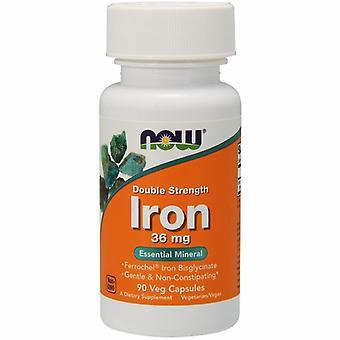 Nu Foods Iron 36 mg Dobbelt styrke, 90 Vcaps