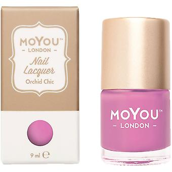 MoYou London Stamping Nail Laque - Orchid Chic 9ml (mn012)