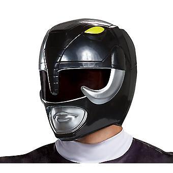 Black Ranger Helmet - Adult - Mighty Morphin