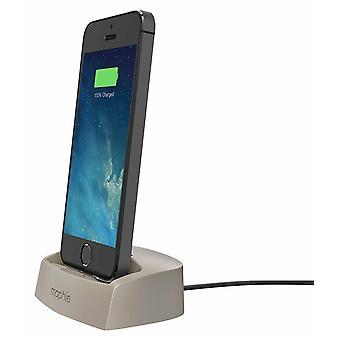 Mophie Desktop Charging Dock Lightning for Iphone 5/5s/6/6s/ Gold