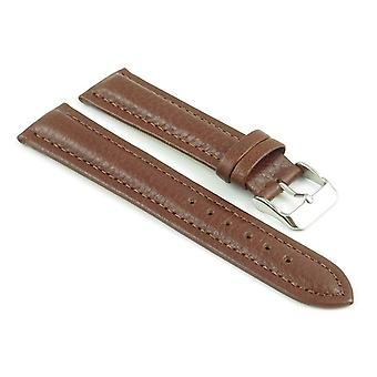 Strapsco padded leather watch strap