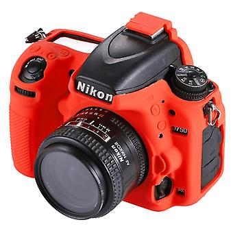PULUZ Soft Silicone Protective Case for Nikon D750(Red)