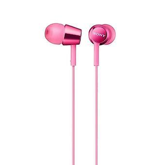 Sony MDR-EX155AP - In-ear Earbuds - Pink