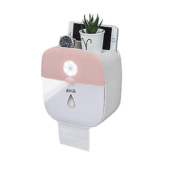 YANGFAN Toilet Paper Roll Holder with Automatic Sensor Lamp
