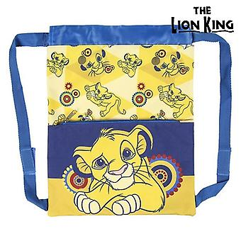Child's Backpack Bag The Lion King Blue Yellow