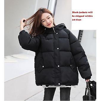 Jachete de iarnă Bomber Gros Quilted Bumbac Parka Supradimensionate Loose Jacket
