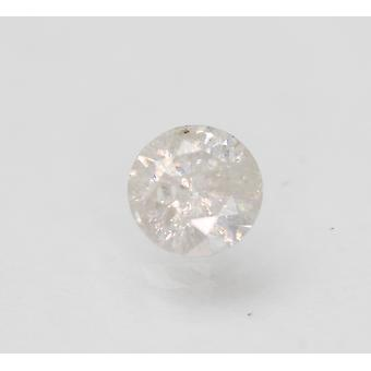 Sertifioitu 0,76 karat F Väri Pyöreä Brilliant Natural Loose Diamond 5,81mm