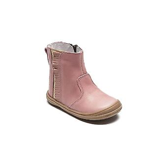 BELLAMY Zipped Short Boot Pink