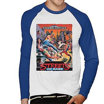 Sega Streets Of Rage Mega Drive Menn's Baseball Langermet T-skjorte
