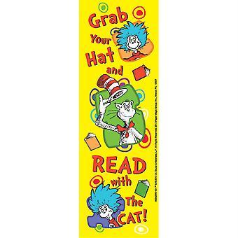 Dr. Seuss afferra i segnalibri del cappello