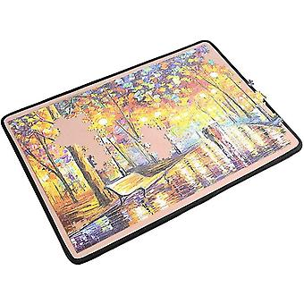 Ingooood Jigsaw Puzzle Board Puzzle Mat Easy Move Storage Jigsaw Puzzle mat
