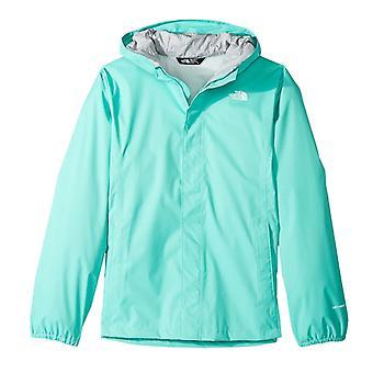 The North Face Resolve Kids Girls Outdoor Waterproof Full Zip Coat Jacket Green