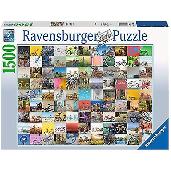 99 Bicycles Jigsaw Puzzle - 1500 Pieces