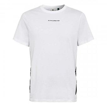 G-Star Sport Logo Tape T-Shirt White D19369